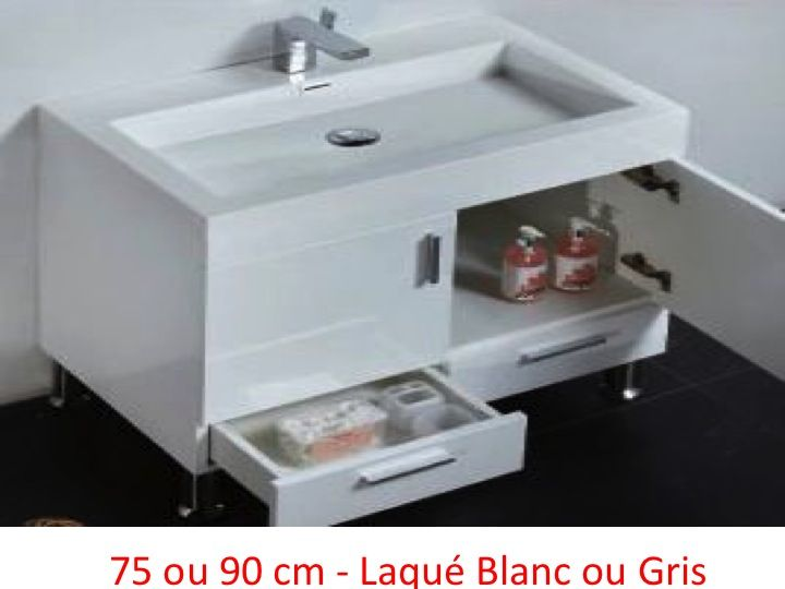 meubles lave mains robinetteries meubles salle de bains meuble de salle de bain 90 cm hora. Black Bedroom Furniture Sets. Home Design Ideas