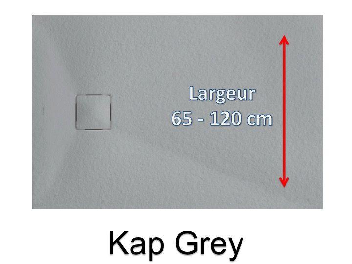 receveurs de douches longueur 160 receveur de douche longueur 160 cm en r sine extra plat. Black Bedroom Furniture Sets. Home Design Ideas