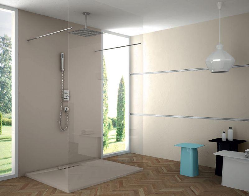 receveurs de douches longueur 160 receveur de douche 160 cm en r sine caniveau pop extra. Black Bedroom Furniture Sets. Home Design Ideas