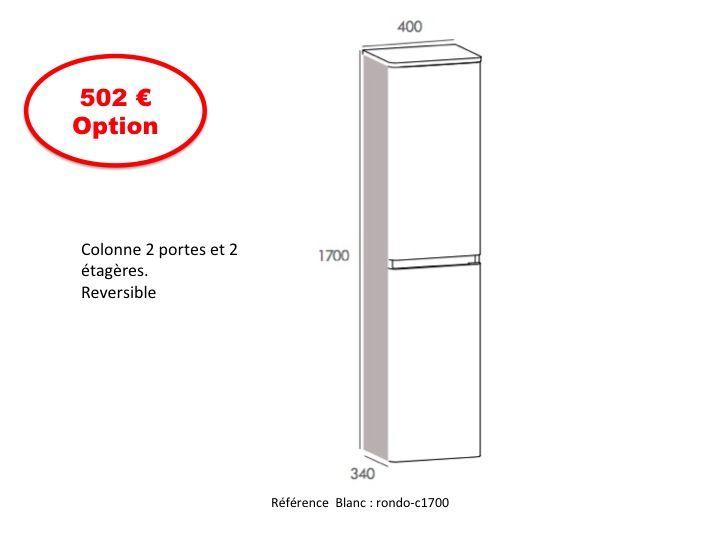 Meubles lave mains robinetteries meubles sdb meuble de for Colonne salle de bain 120 cm