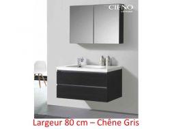 Meubles de salle de bain coulommiers carrelage - Meuble salle de bain chene gris ...