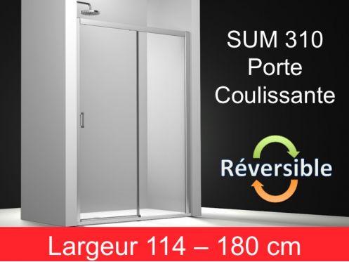 paroi de douche accessoires porte de douche coulissante hauteur 195 cm sum 310. Black Bedroom Furniture Sets. Home Design Ideas