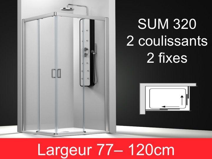 Paroi de douche accessoires porte de douche coulissante - Porte de douche coulissante 80 cm ...