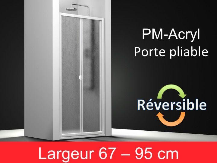 Paroi de douche accessoires porte de douche pliable for Porte douche 75 cm