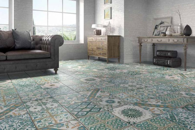 carrelages mosa ques et galets aspect cx ciment retro blanco 6 33x33 cm carrelage imitation. Black Bedroom Furniture Sets. Home Design Ideas