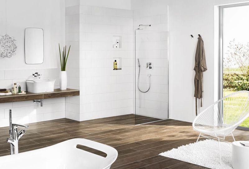 receveur de douche carreler avec vacuation lin aire. Black Bedroom Furniture Sets. Home Design Ideas