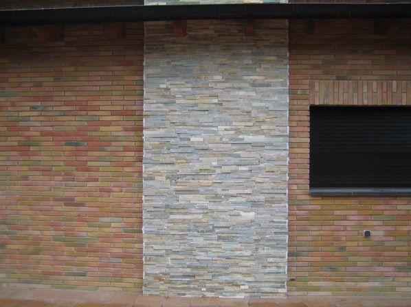 Joint Carrelage Exterieur : Parement mur pierre naturelle cm laja iris