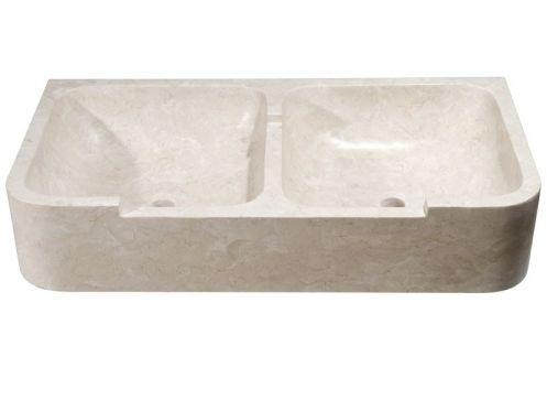 vasques pierre naturelle double vasque en pierre naturelle th 101 bls. Black Bedroom Furniture Sets. Home Design Ideas