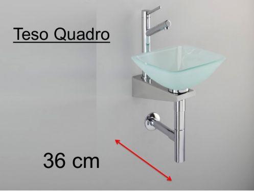 meubles lave mains robinetteries lave mains lave mains sur support inox vasque en verre. Black Bedroom Furniture Sets. Home Design Ideas