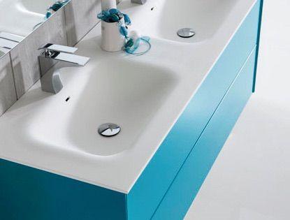 meubles lave mains robinetteries meubles sdb meuble de salle de bain 150 cm double vasque. Black Bedroom Furniture Sets. Home Design Ideas