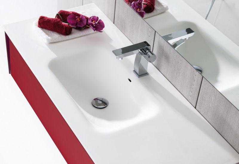 meubles lave mains robinetteries meubles sdb meuble de salle de bain 100 cm ottobel 1000. Black Bedroom Furniture Sets. Home Design Ideas