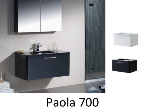 meubles lave mains robinetteries meubles sdb meuble de salle de bain 70 cm paola 700. Black Bedroom Furniture Sets. Home Design Ideas