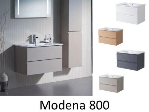 meubles lave mains robinetteries meuble sdb meuble de salle de bain suspendu avec une. Black Bedroom Furniture Sets. Home Design Ideas