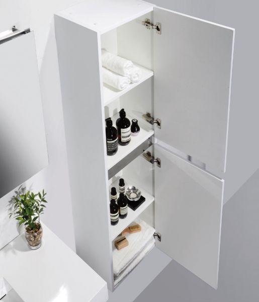 Meubles lave mains robinetteries meuble sdb meuble de for Miroir laque blanc brillant