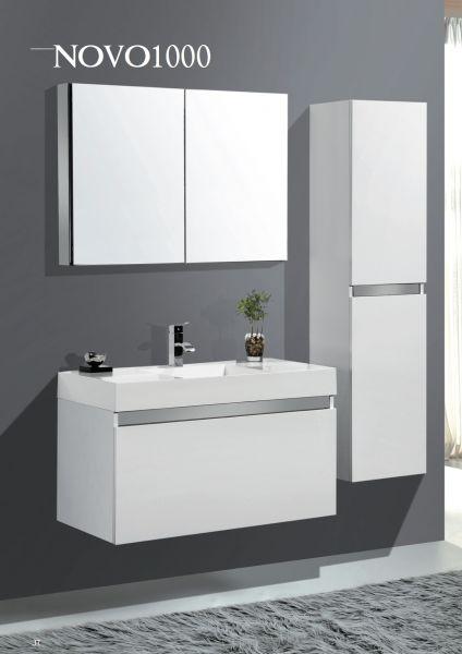 meubles lave mains robinetteries meuble teck meuble de salle de bain 80 cm armoire miroir. Black Bedroom Furniture Sets. Home Design Ideas