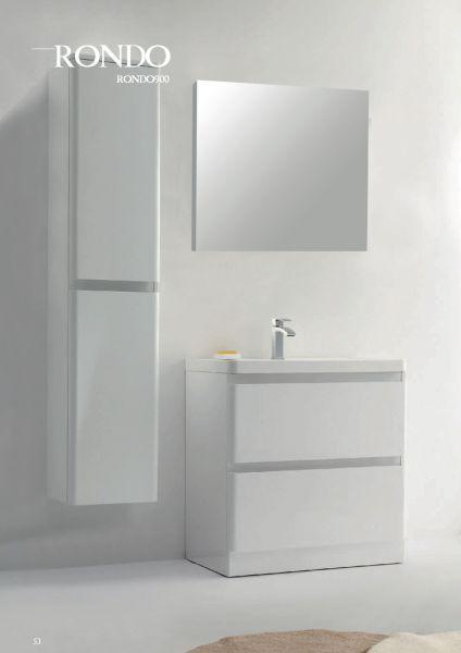meuble salle de bain blanc laqu et bois obtenez des id es de design. Black Bedroom Furniture Sets. Home Design Ideas