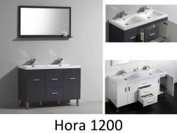 Meubles de salle de bain coulommiers carrelage for Meuble salle de bain blanc et gris