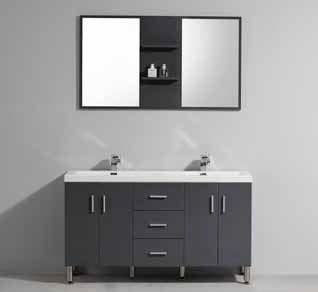 Meubles lave mains robinetteries meuble teck meuble de salle de bain sur pieds avec double - Salle de bain avec bain sur pattes ...