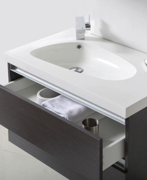 meubles lave mains robinetteries meuble sdb meuble de salle de bain suspendu de 80 cm. Black Bedroom Furniture Sets. Home Design Ideas