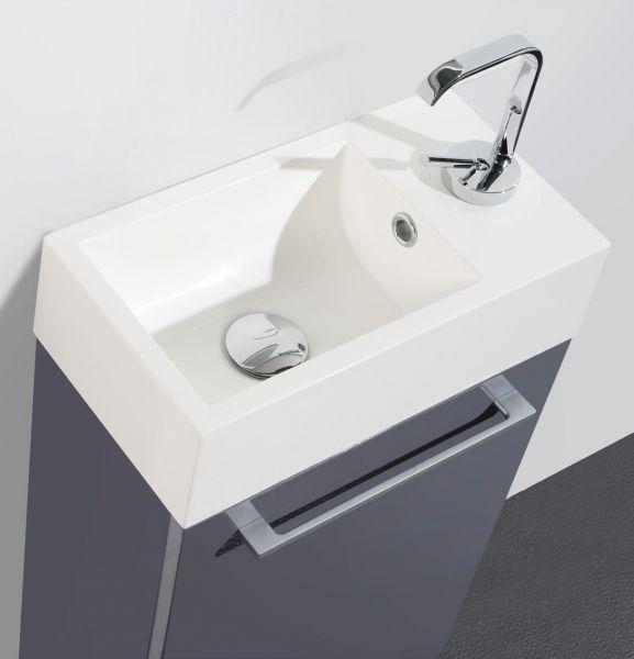 meubles lave mains robinetteries lave mains meuble lave mains suspendre r versible avec. Black Bedroom Furniture Sets. Home Design Ideas