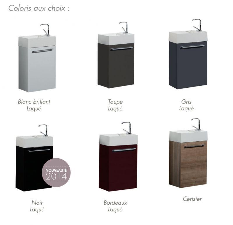 vasques lave mains meuble lave mains suspendre r versible avec vasque lupio 400. Black Bedroom Furniture Sets. Home Design Ideas