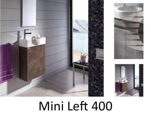 Meubles lave mains robinetteries meubles sdb meuble de for Meuble mural profondeur 40 cm