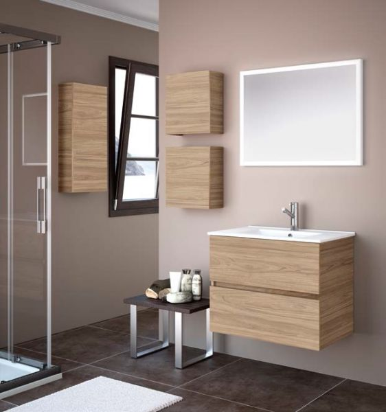 meubles lave mains robinetteries meuble sdb meuble de salle de bain 70 cm fussion line 700. Black Bedroom Furniture Sets. Home Design Ideas