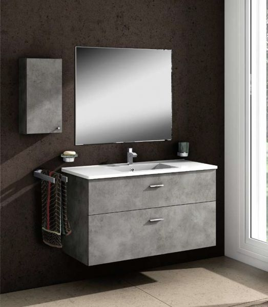 Meubles lave mains robinetteries meuble sdb meuble de for Miroir 90x70