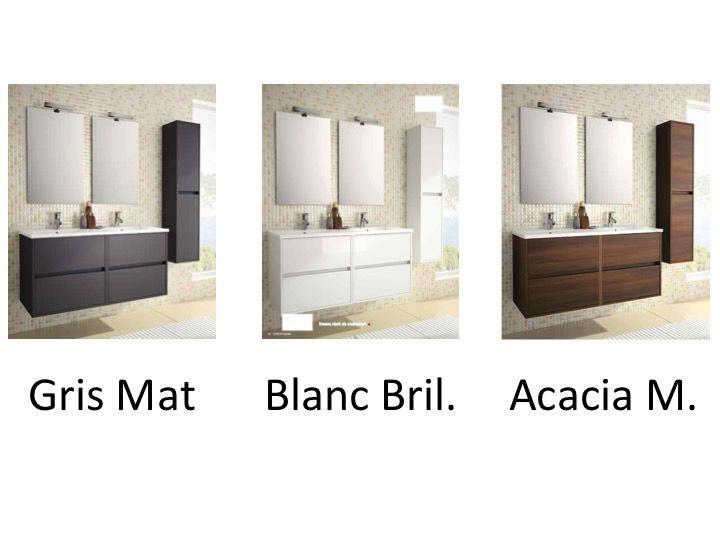 meuble salle de bain noja 1200