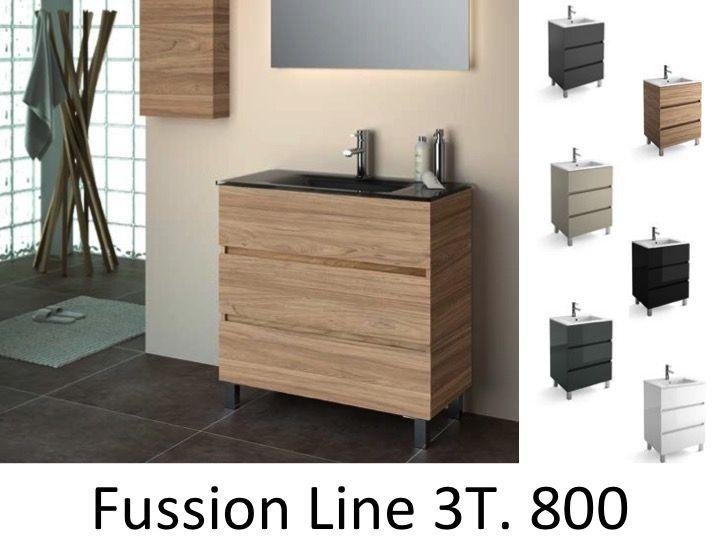 Meubles lave mains robinetteries meuble sdb meuble de salle de bain sur pieds 80 cm - Meuble salle de bain profondeur 38 ...