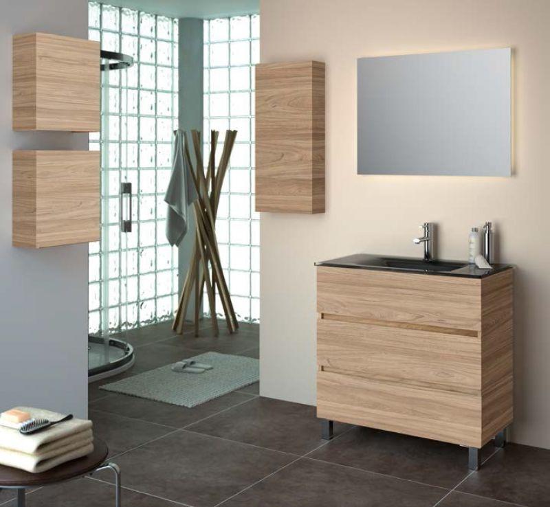 meuble salle de bain 80 cm sur pieds