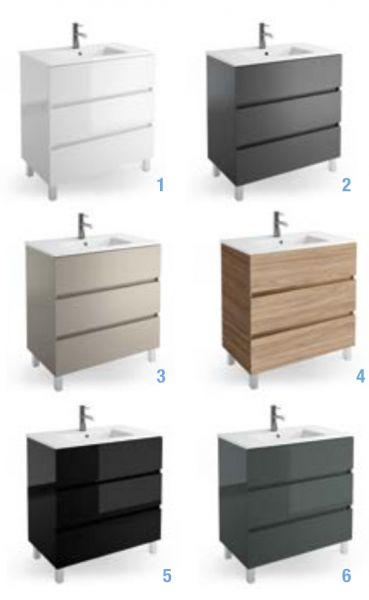 Meubles lave mains robinetteries meubles sdb meuble de - Meuble lavabo sur pied ...