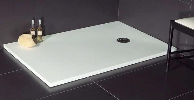 Receveurs de douches longueur 100 100 x 80 receveur de douche en r sine - Receveur de douche 100 x 80 ...