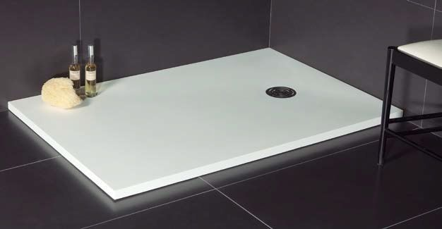 receveurs de douches longueur 100 100 x 90 receveur de douche en r sine extra plat lisso. Black Bedroom Furniture Sets. Home Design Ideas