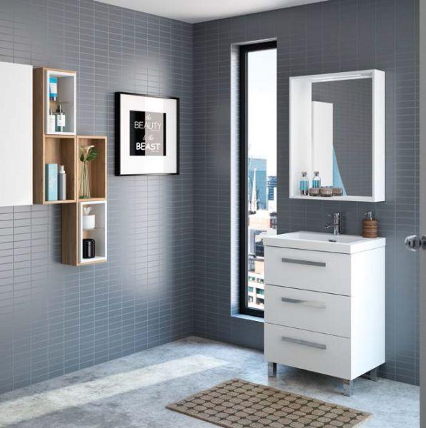 meuble salle de bain sur pieds. Black Bedroom Furniture Sets. Home Design Ideas