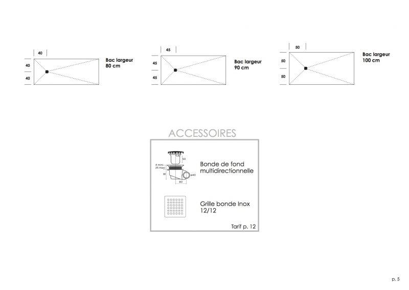 receveurs de douches longueur 70 receveur de douche 70 cm en r sine bac douche l. Black Bedroom Furniture Sets. Home Design Ideas