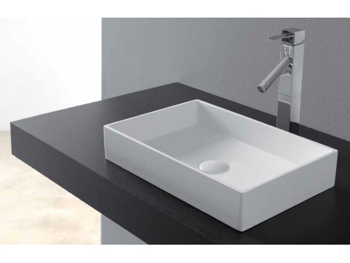 vasques vasque poser vasque type corian 48 x 32 cm en. Black Bedroom Furniture Sets. Home Design Ideas