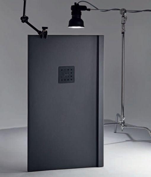 receveurs de douches longueur 110 receveur de douche 110 cm en r sine effet lisse sable. Black Bedroom Furniture Sets. Home Design Ideas