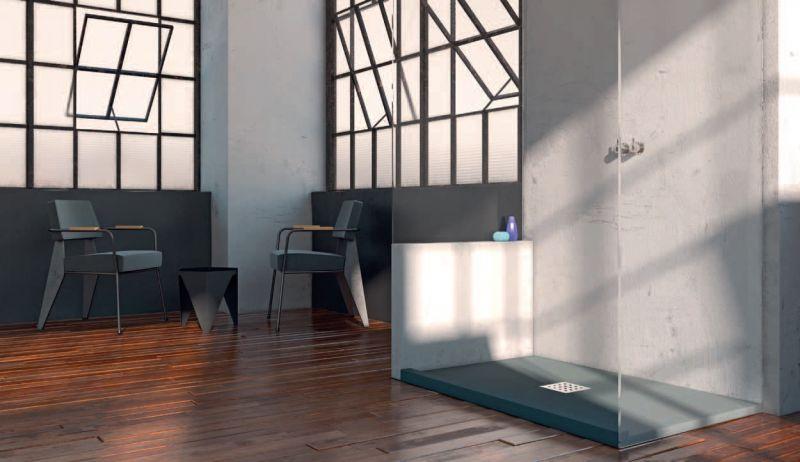 receveurs de douches longueur 160 receveur de douche 160 cm en r sine effet lisse sable. Black Bedroom Furniture Sets. Home Design Ideas
