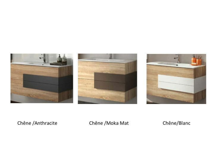 meuble de salle de bain suspendu cm cronos bois orme with meuble orme. Black Bedroom Furniture Sets. Home Design Ideas