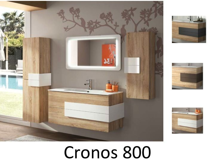 Meubles lave mains robinetteries meuble sdb meuble de for Meuble bois salle de bain