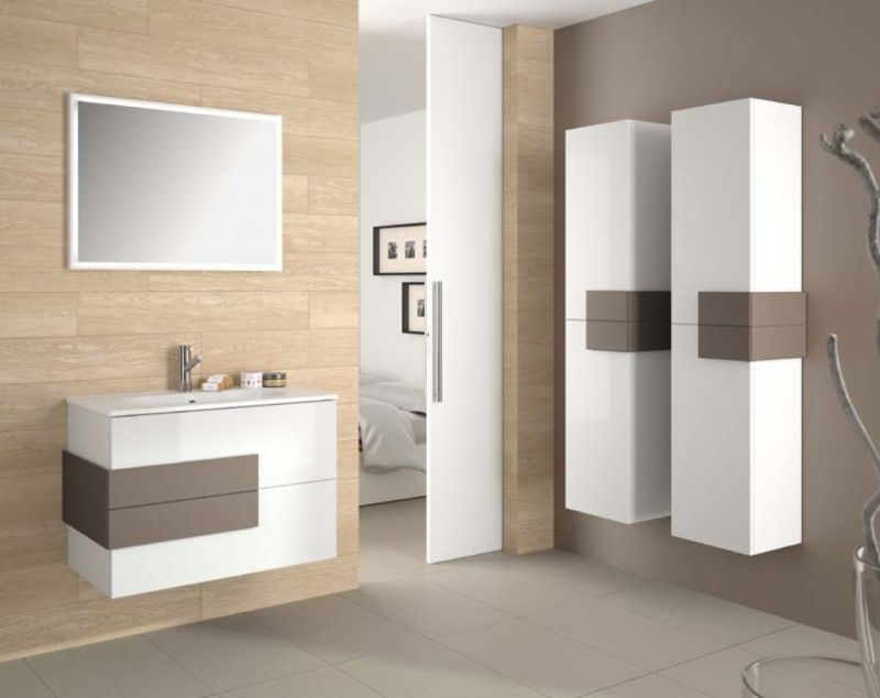 p 163070 3 meuble de salle de bain suspendu 80 cm cronos 800   blanc Résultat Supérieur 15 Nouveau Meuble De Salle De Bain A Suspendre Galerie 2017 Uqw1