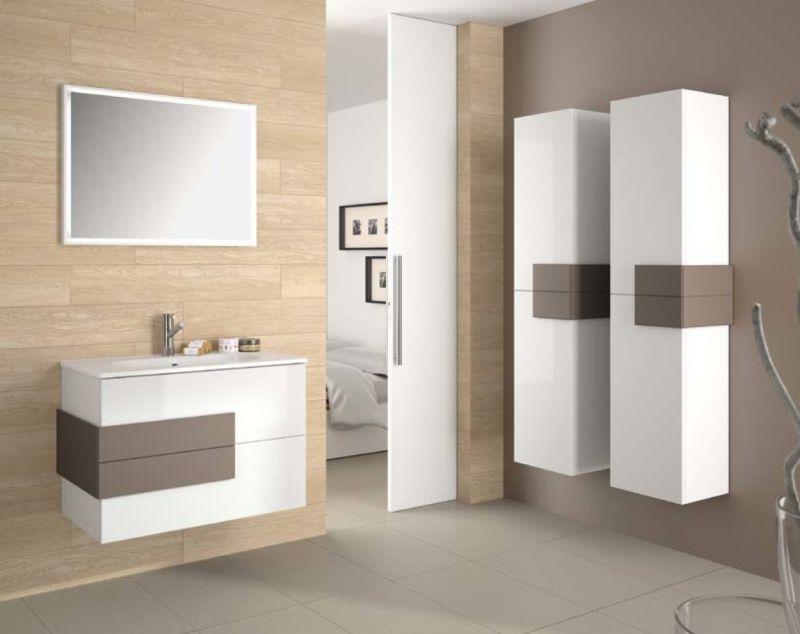 Meubles lave mains robinetteries meuble sdb meuble de - Colonne salle de bain 60 cm ...