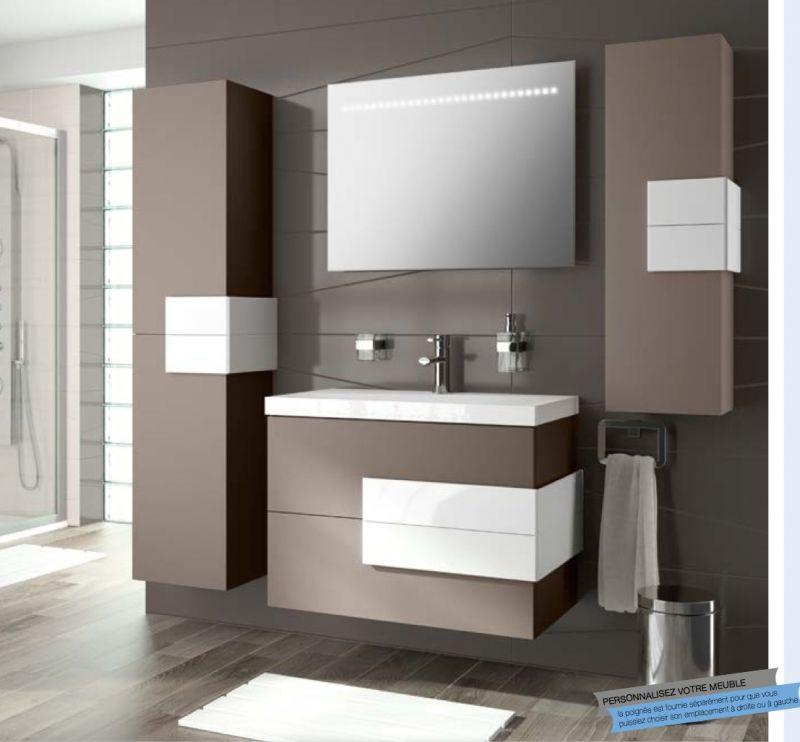 Meubles lave mains robinetteries meuble sdb meuble de - Aki espejos bano ...