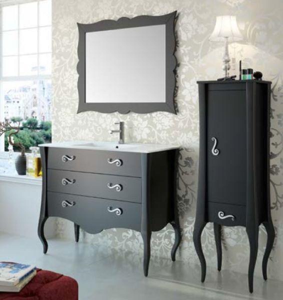 Meubles lave mains robinetteries meuble sdb meuble de - Meuble de salle de bain style retro ...