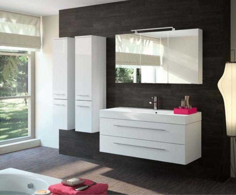 meubles lave mains robinetteries meuble sdb meuble de salle de bain suspendu 90 cm. Black Bedroom Furniture Sets. Home Design Ideas