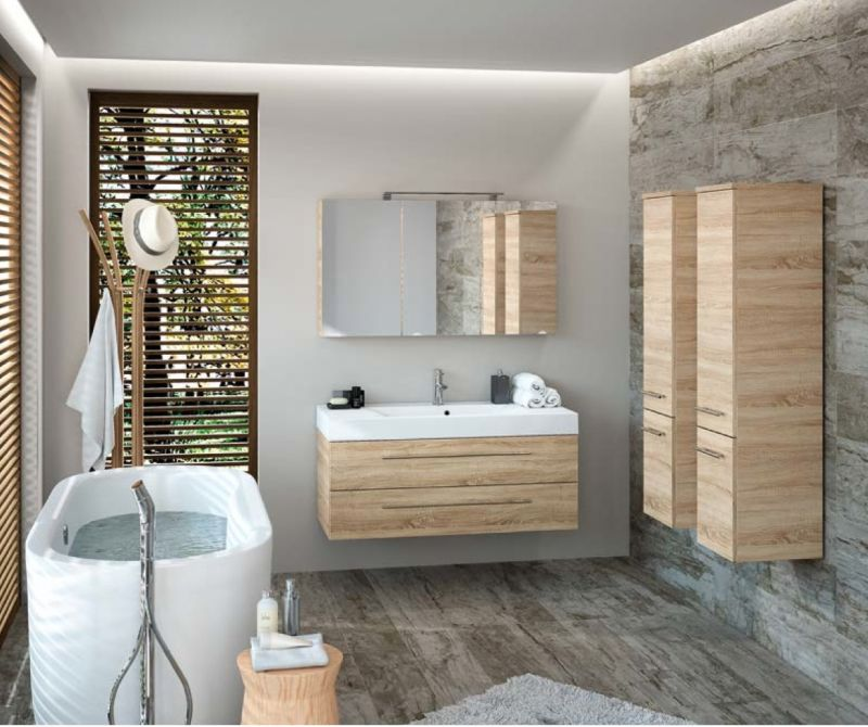 meuble de salle de bain suspendu 120 cm starlight 1200 2 tiroirs - Colonne Suspendu Salle De Bains