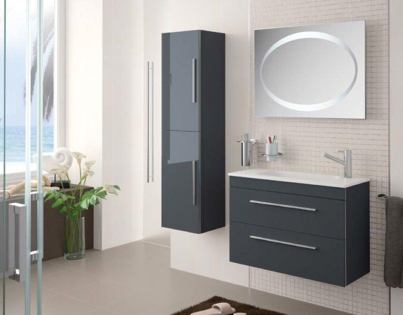 Colonne suspendue salle de bain for Colonne salle de bain 80 cm