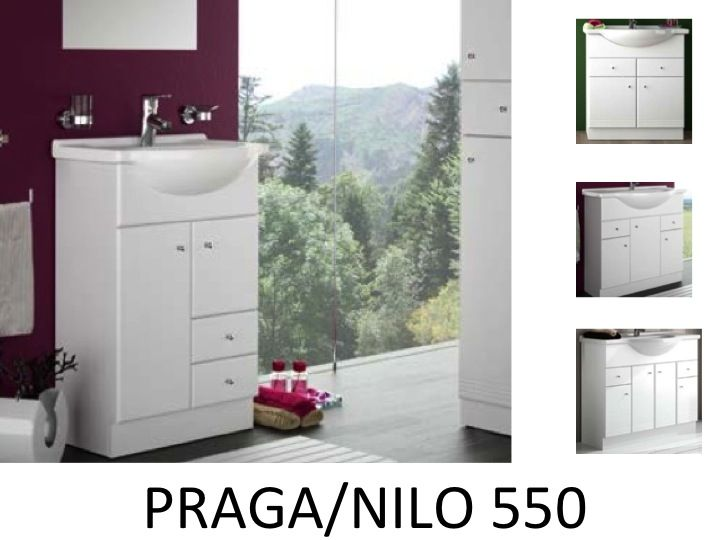 meubles lave mains robinetteries meuble sdb meuble de salle de bain 55 cm praga nilo 550. Black Bedroom Furniture Sets. Home Design Ideas