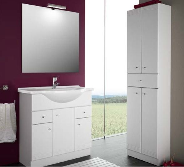 meubles lave mains robinetteries meuble sdb meuble de salle de bain 75 cm praga nilo 750. Black Bedroom Furniture Sets. Home Design Ideas